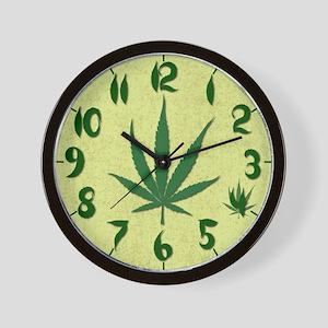 4:20 Marijuana Wall Clock