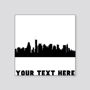Boston Cityscape Skyline (Custom) Sticker