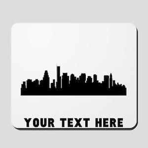 Boston Cityscape Skyline (Custom) Mousepad