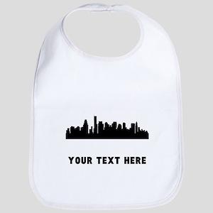 Boston Cityscape Skyline (Custom) Bib