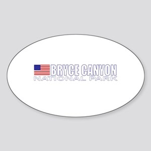 Bryce Canyon National Park Oval Sticker