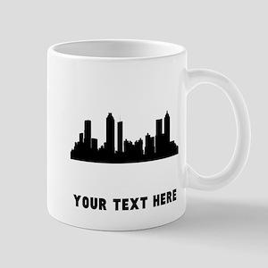 Atlanta Cityscape Skyline (Custom) Mugs