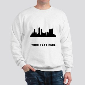 Atlanta Cityscape Skyline (Custom) Sweatshirt
