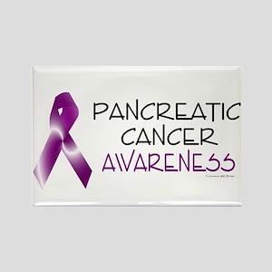 Pancreatic Cancer Awareness 2 Rectangle Magnet