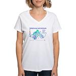 Windham Mountain Women's V-Neck T-Shirt