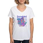 Snowbird Women's V-Neck T-Shirt