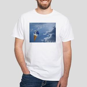 Global Warming White T-Shirt