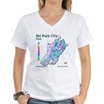 Park City Mountain Resort Women's V-Neck T-Shirt