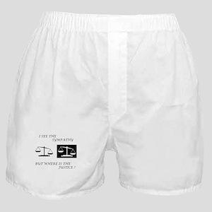 Sympathy vs. Justice Boxer Shorts