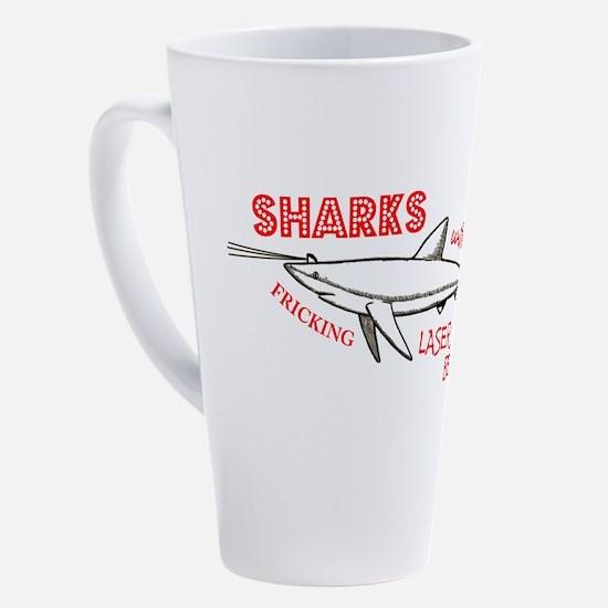 Cute Shark 17 oz Latte Mug
