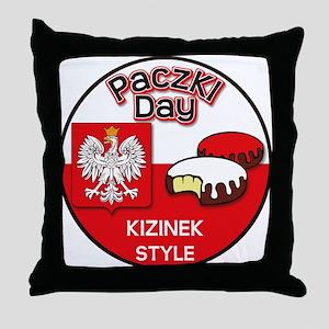 Kizinek Throw Pillow