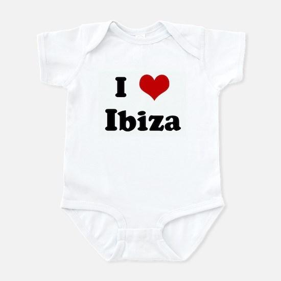 I Love Ibiza Infant Bodysuit
