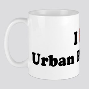 I (Heart) Urban Planning Mug