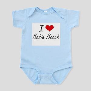 I love Bahia Beach Florida artistic des Body Suit