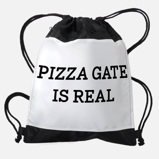 Pizza Gate Is Real Drawstring Bag
