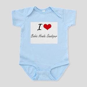 I love Bahia Honda Sandspur Florida art Body Suit