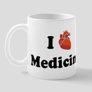 I (Heart) Medicine Mug