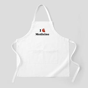 I (Heart) Medicine BBQ Apron