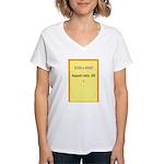 Postcard Image 1 Women's V-Neck T-Shirt