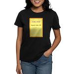 Postcard Image 1 Women's Dark T-Shirt