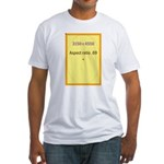 Postcard Image 1 Fitted T-Shirt
