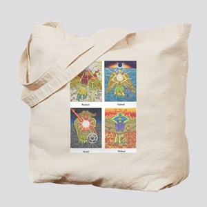 Four Archangels Tote Bag