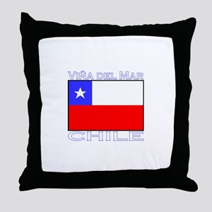 Vina del Mar, Chile Throw Pillow