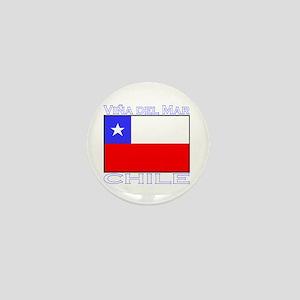 Vina del Mar, Chile Mini Button