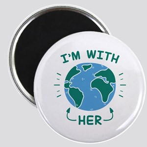 I'm With Her Magnet