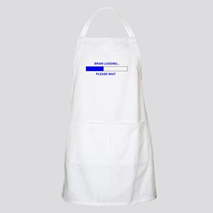 BRAIN LOADING... BBQ Apron