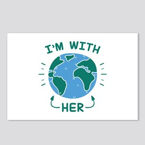 I'm With Her Postcards (Package of 8)