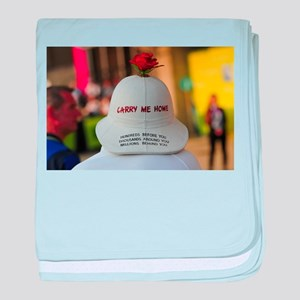 CARRY ME HOME baby blanket