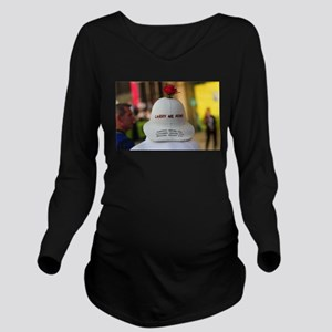 CARRY ME HOME Long Sleeve Maternity T-Shirt