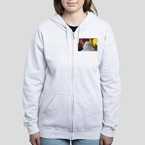 CARRY ME HOME Women's Zip Hoodie