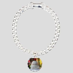 CARRY ME HOME Charm Bracelet, One Charm