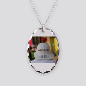 CARRY ME HOME Necklace Oval Charm