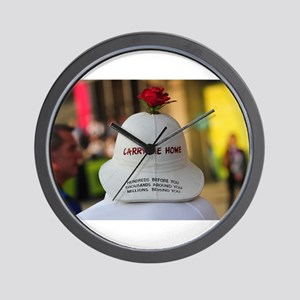 CARRY ME HOME Wall Clock