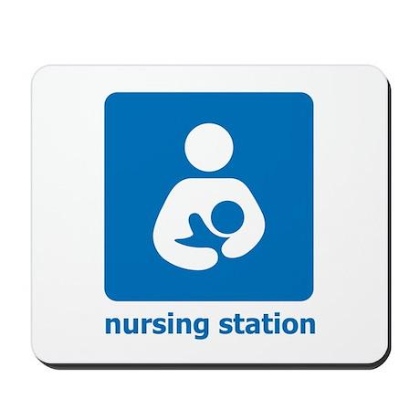 nursing station Mousepad