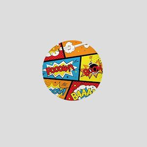 Comic Effects Mini Button
