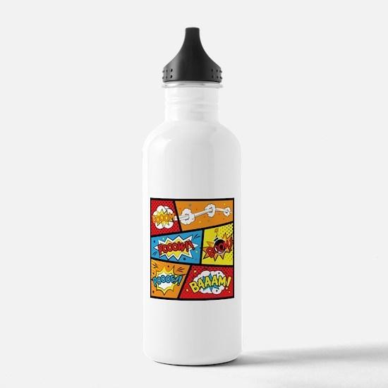 Comic Effects Water Bottle