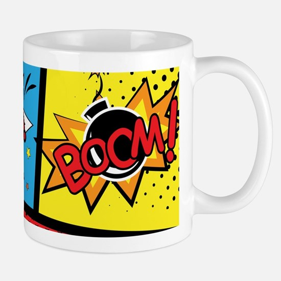 Comic Effects Mugs