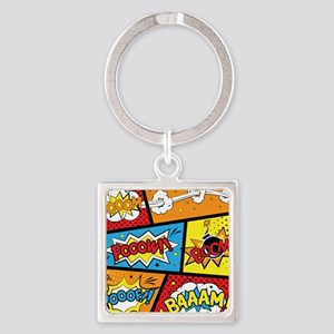 Comic Effects Keychains