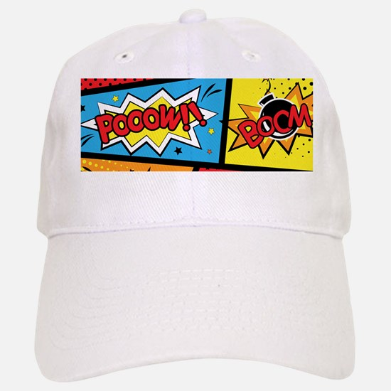 Comic Effects Baseball Baseball Baseball Cap