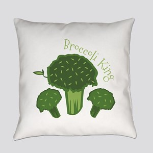 Broccoli King Everyday Pillow