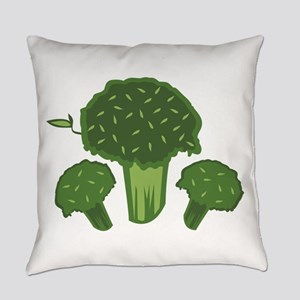 Broccoli Bunch Everyday Pillow