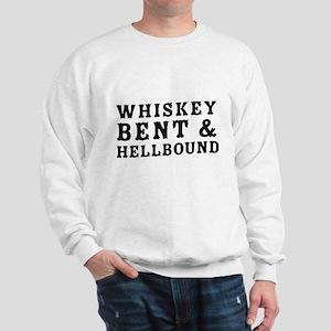 Whiskey bent & hellbound Sweatshirt