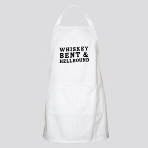 Whiskey bent & hellbound Light Apron