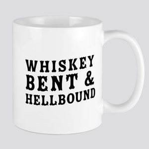 Whiskey bent & hellbound Mugs