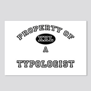 Property of a Typologist Postcards (Package of 8)