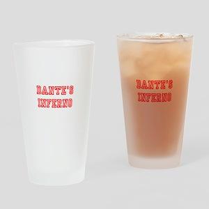 DANTES INFERNO Drinking Glass
